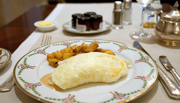 St Regis New York Omelette