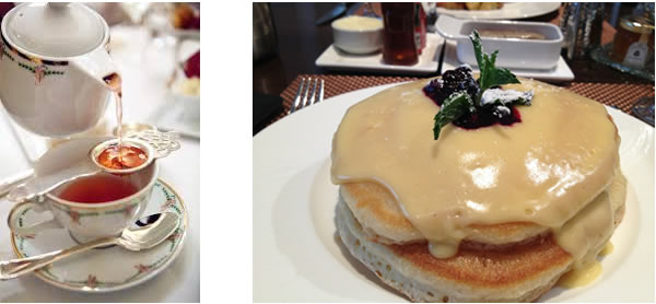 St Regis New York Pancakes and Tea