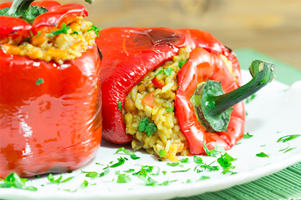 Greek-Rice-Stuffed-Peppers