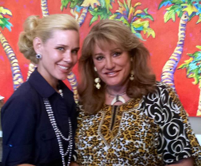 Michelle-Marie Heinemann & Princess Amanda Borghese