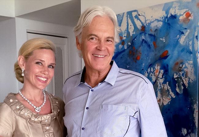 Michelle-Marie Heinemann & Ron Burkhardt