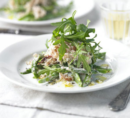 Asparagus and Crab Salad Recipe