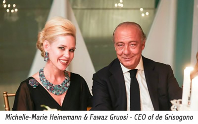 Michelle-Marie Heinemann & Fawaz Gruosi - CEO of de Grisogono