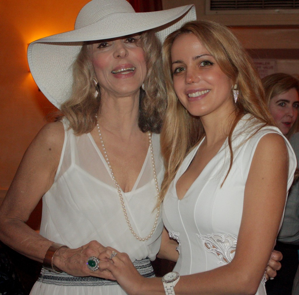Countess Joycelyn Engle Di Palma and her daughter Julianne Michelle Di Palma