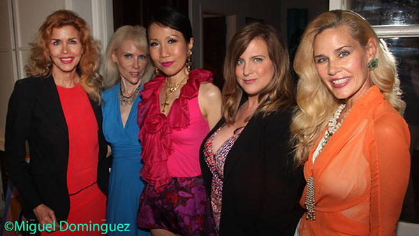 Debbie Dickinson, Lynn Castrataro, Chiu-Ti Jansen, Boston Scarlette and Michelle-Marie Heinemann