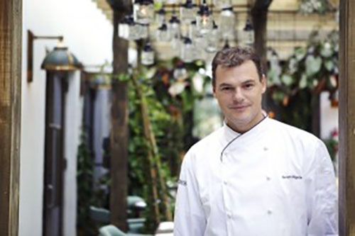 Sergio Sigala~Excurive Chef at Cecconi's at Soho Beach House, Miami Florida