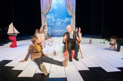 Be sure to bring tissues to this eye-popping adaptation of The Velveteen Rabbit at the New Vic. Photo by Manuel Harlan/courtesy the New Victory Theater.