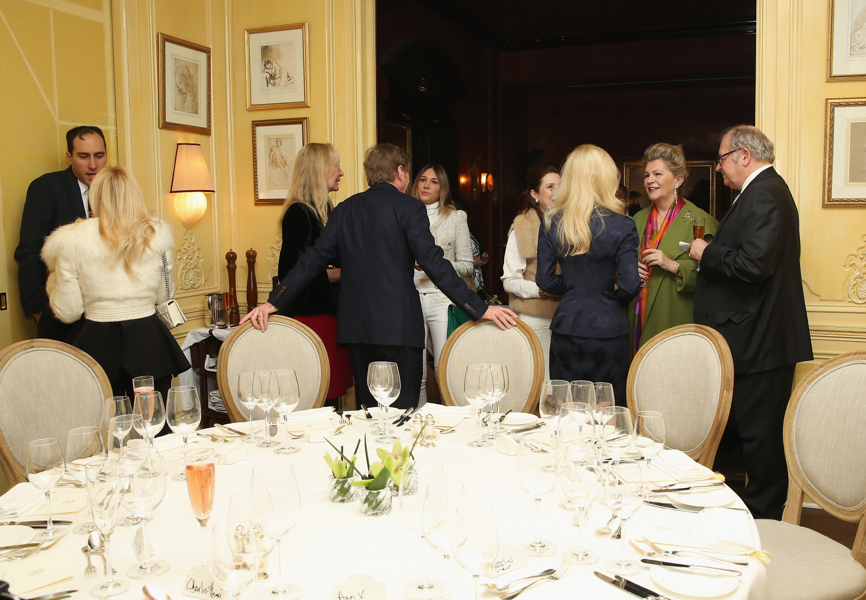 NEW YORK, NY - JANUARY 08: General view of atmopshere at New York Socialite Michelle-Marie Heinemann Hosts Luncheon For Prince Charles Henri Lobkowicz At Plaza Athenee on January 8, 2016 in New York City. (Photo by Robin Marchant/Getty Images for Old Fashioned Mom Magazine)