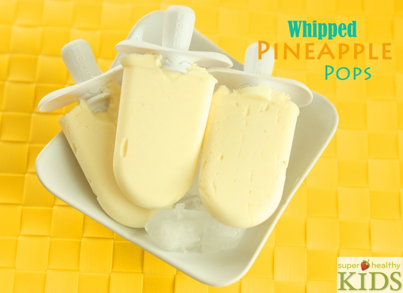 Whipped Pineapple Pops