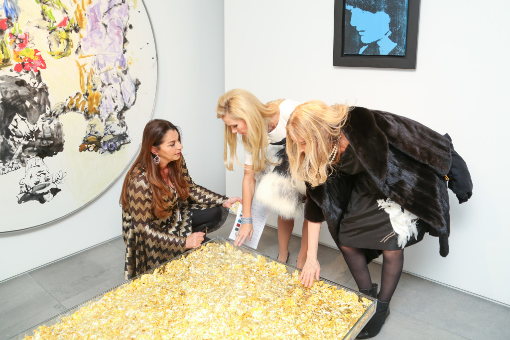Florence Dyan, Michelle-Marie Heinemamn, Lauren Lawrence