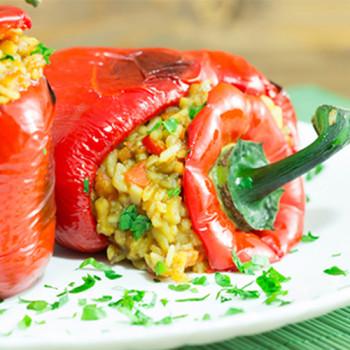 Greek-Rice-Stuffed-Peppers