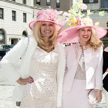 Leesa-Rowland-and-Michelle-Marie-Heinemann-Hat-Party3501