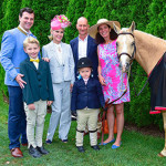 Jon Heinemann, Hudson Cornelius Heinemann, Michelle-Marie Heinemann, Paul Mayne, Hyacinth Cornelia Heinemann, Julie Stevenson== The Heinemann Family proudly supports The Hampton Classic== The Hampton Classic, Bridgehampton, NY== August 23, 2015== ©Patrick McMullan== Photo - Sean Zanni/PatrickMcMullan.com== ==