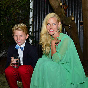 Hudson Heinemann, Michelle-Marie Heinemann== Jon Heinemann, Michelle-Marie Heinemann, Hudson Heinemann and Hyacinth Heinemann host an Enchanted Evening in the Garden celebrating The Hampton Classic== Maidstone Inn, East Hampton, NY== August 22, 2015== ©Patrick McMullan== Photo - Jared Michael Siskin/patrickmcmullan.com==