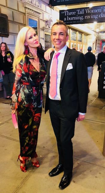 Michelle-Marie Heinemann and Ray Bouderau