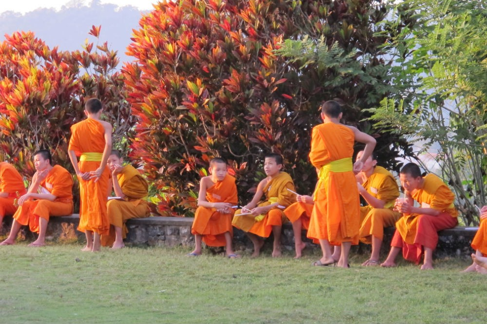 Monks in Luang Prabang, Laos. Photo: Flickr/jayarc