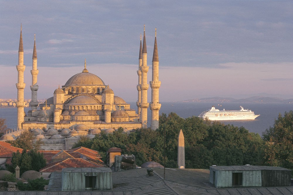 Istanbul, Turkey. Photo courtesy Crystal Cruises.