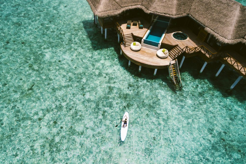 Huvafen Fushi, Maldives. Photo: Huvafen Fush