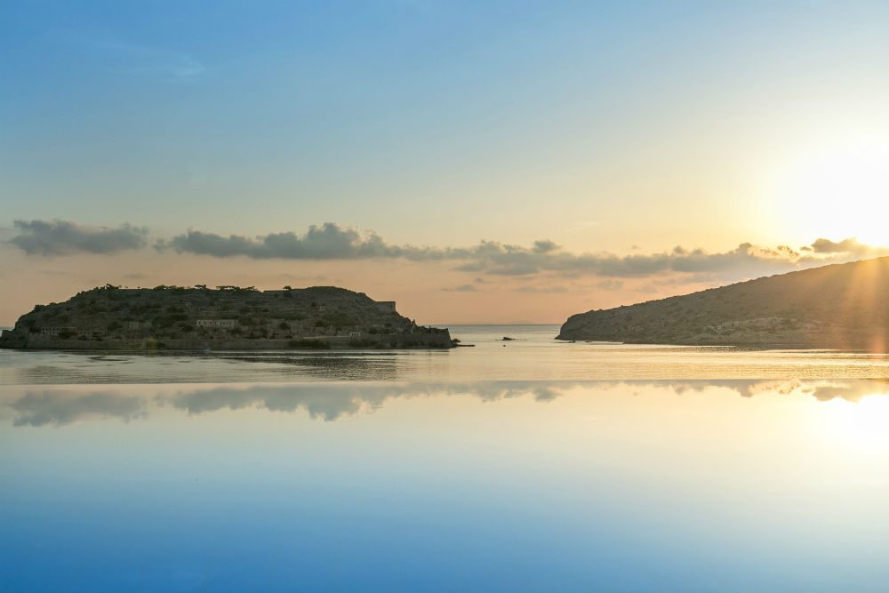 The island of Spinalonga, Crete, Greece. Photo: Blue Palace Resort and Spa