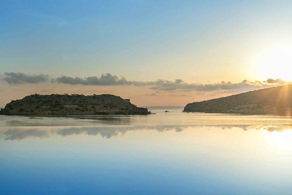 The island of Spinalonga, Crete, Greece. Photo: Blue Palace Resort and Spa