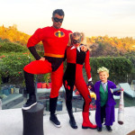 Fergie and Josh Duhamel and son Axl