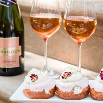 Old Fashioned Mom: Chandon's Sparkling Rosé Doughnuts Are A Must-Try